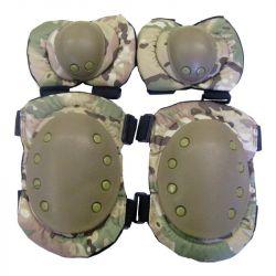 Set Genouilleres & Coudieres Gen1 Multicam (JS)