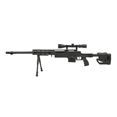 replique-Sniper MB4411D w/ Lunette & Bipied (Well) -airsoft-RE-WLMB4411D