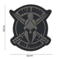 Patch 3D PVC Malo Mori Noir Gris (101 Inc)
