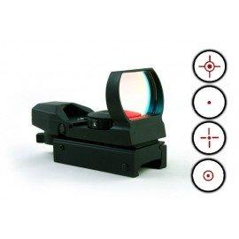 CYBERGUN Swiss Arms Multi Reticule Noir AC-CB263916 Red Dot / Point rouge
