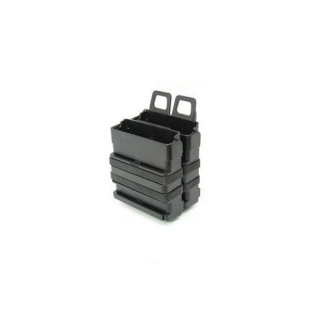 Porte Chargeur FastMag 7.62mm (x2) Noir (S&T)