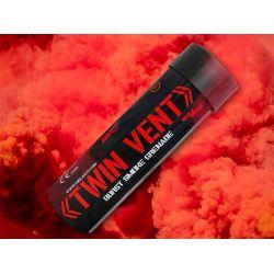 Rote Rauchgranate platzen (Enola Gaye)