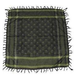 MFH Shemagh Cheche Vert Noir Motif tête de mort (MFH) HC-AC-16513B Chèche / Echarpe