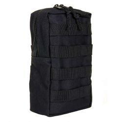 Vertical Utility Pocket Black (101 Inc)