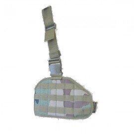 Ares - plaque de cuisse MOLLE - divers coloris