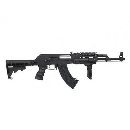 CYMA Cyma AK47 RIS Crosse Retractable (CM028C) RE-CMCM028C Répliques Airsoft