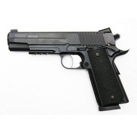 CYBERGUN Sig Sauer GSR M1911 Culasse Metal Co2 (Swiss Arms 280302) RE-CB280302 Répliques de Poing NBB