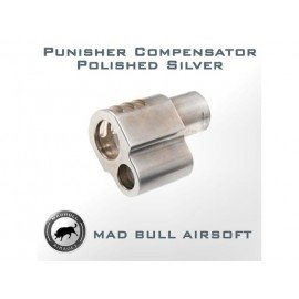 Madbull Compensateur Punisher Argent AC-AS17847 Equipements