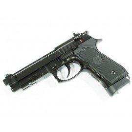 KJ Works KJ Works M9A1 Co2 Full Metal Noir RE-KJGC9606A1 Pistolet à co2 - Co2