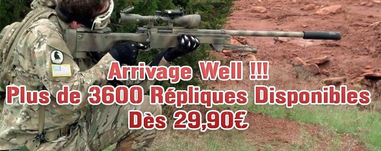 Arrivage Sniper Well